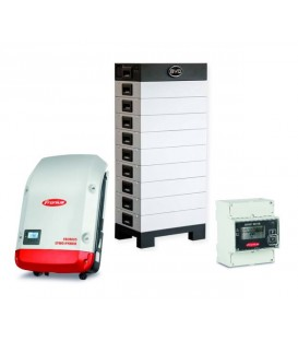 6.4 kWh BYD-Energiespeicher mit Fronius-Symo-Hybrid-PV-Batterie-Wechselrichter 3.0-3-S
