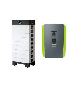 6.4 kWh BYD-Energiespeicher und Kostal-Plenticore-Wechselrichter